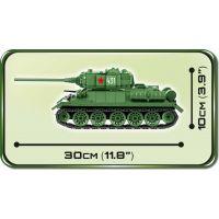 COBI 2476 SMALL ARMY – II WW Tank T-34-85 m 1944 5
