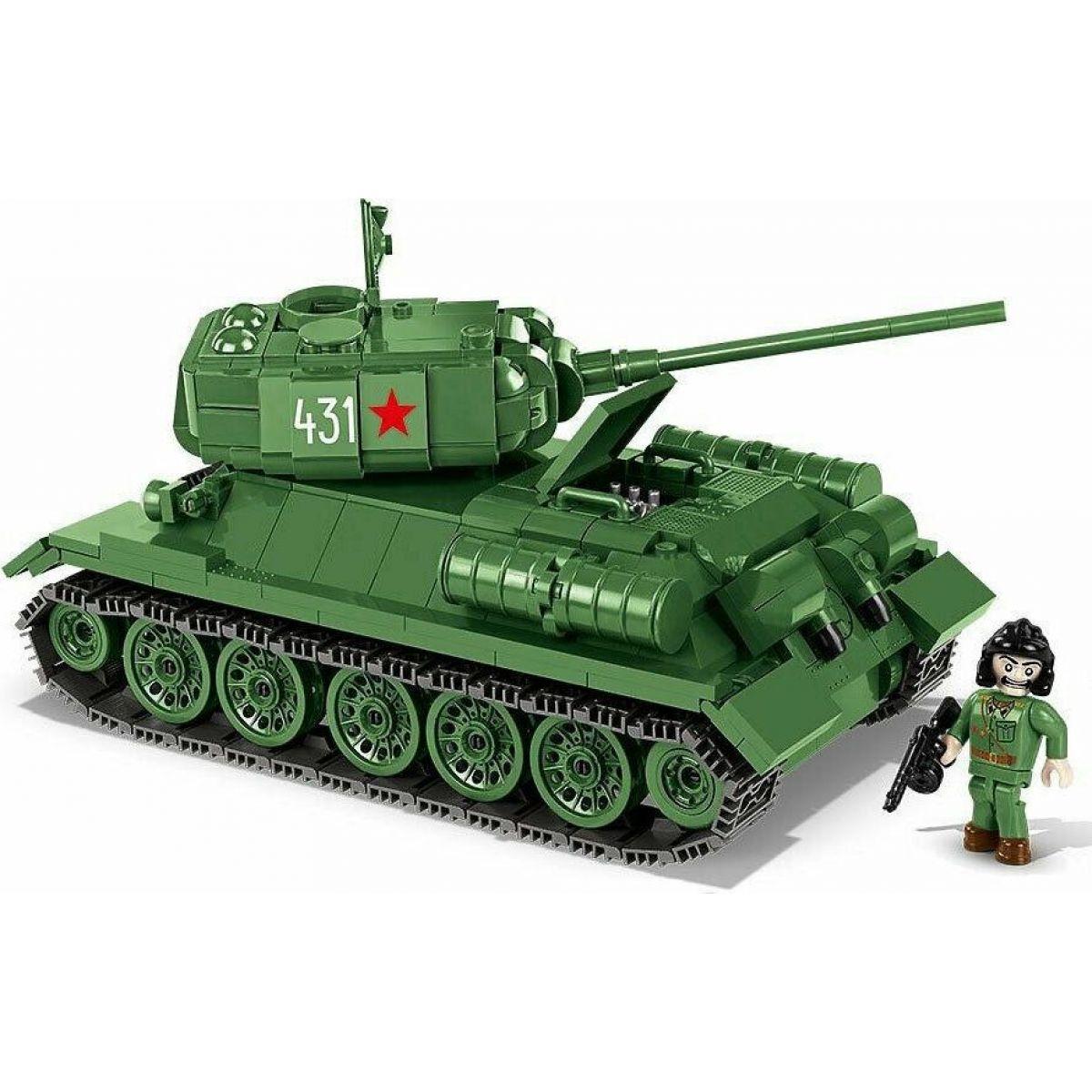 COBI 2476 SMALL ARMY – II WW Tank T-34-85 m 1944