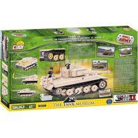 COBI 2477 Small Army Tank Tiger číslo 131 2