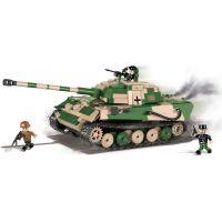 Cobi Malá armáda 2480A SD.KFZ. 182 Konigstiger Tiger II P 2