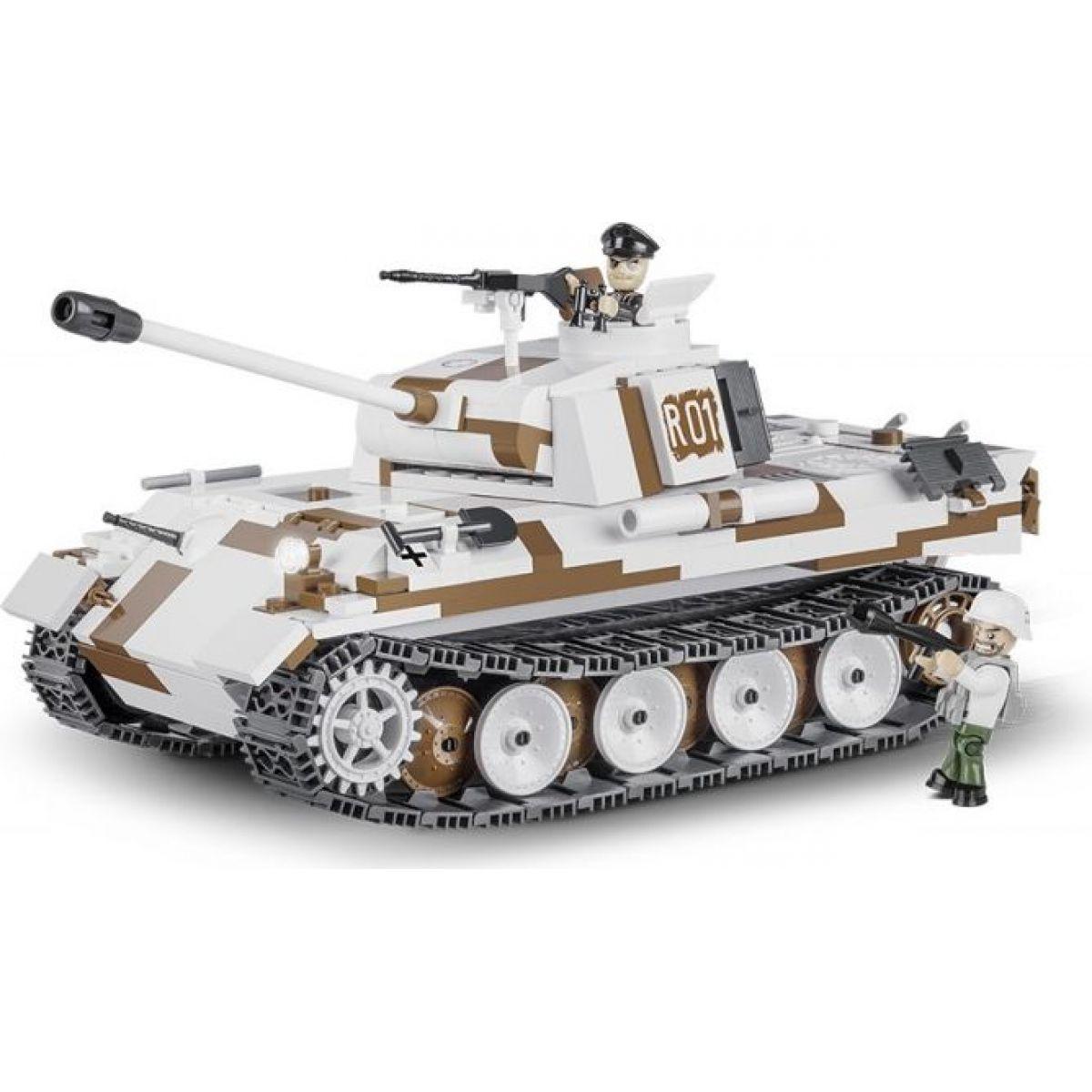Cobi 2511 SMALL ARMY – II WW PzKpfw V Panther Ausf. A SdKfz 171, 490 k, 2 f