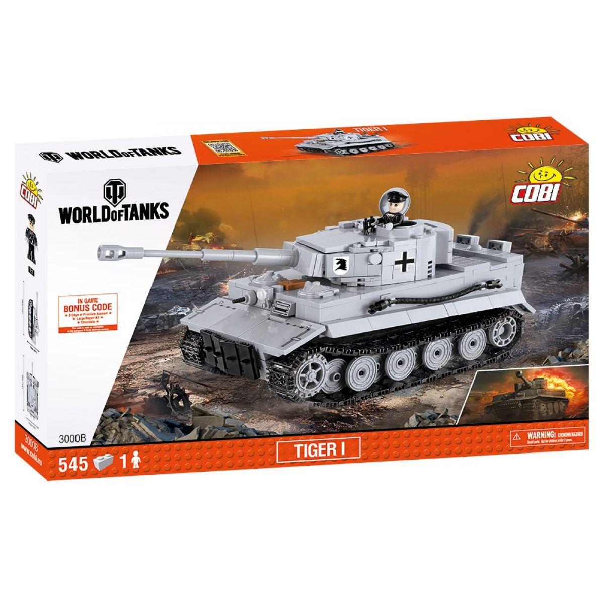 Cobi 3000B World of Tanks Tiger I 545 k - Poškodený obal