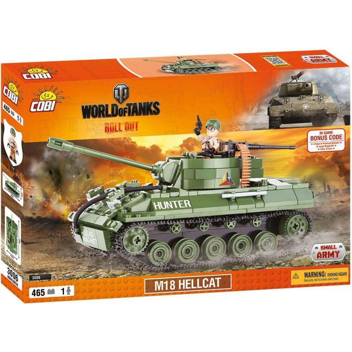 Cobi 3006 World of Tanks M18 Hellcat 465 k
