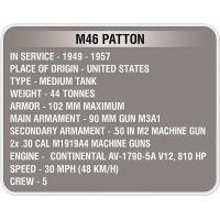 Cobi 3008 World of Tanks M46 Patton 525 k 5