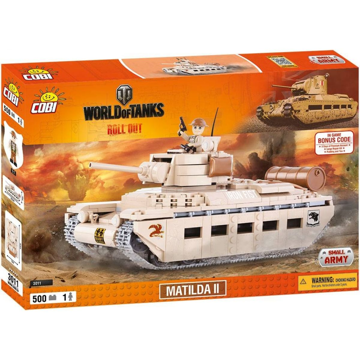 Cobi 3011 World of Tanks Matilda II 500 k 1 f