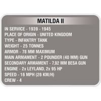 Cobi 3011 World of Tanks Matilda II 500 k 1 f 5