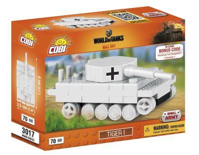 COBI 3017 WORLD of TANKS Nano Tank Tiger I 70 k
