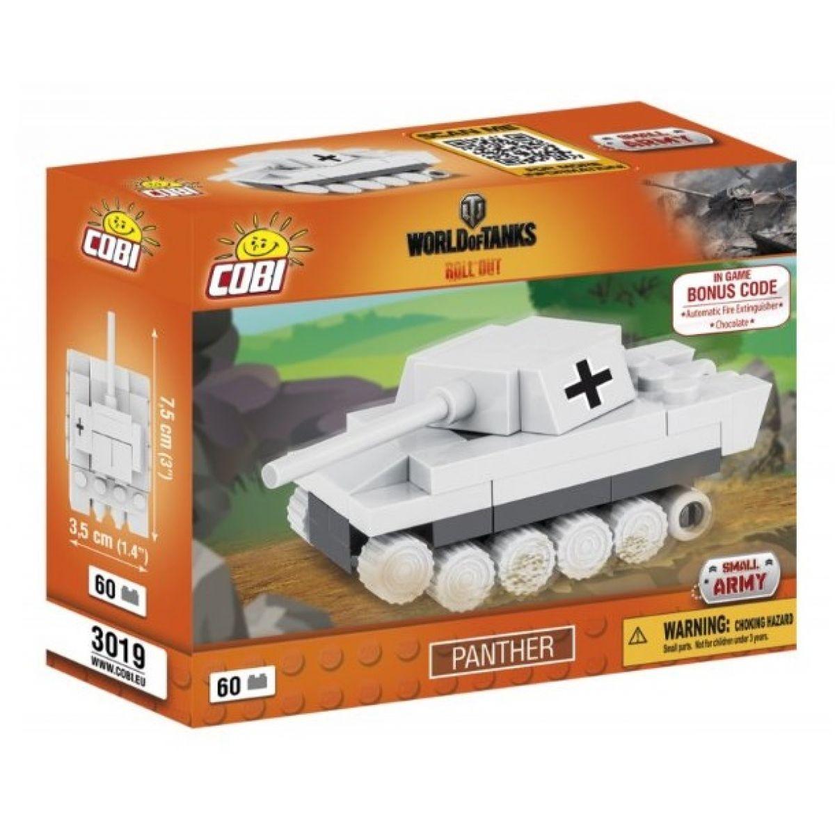 COBI 3019 WORLD of TANKS Nano Tank Panther 60 k