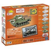 Cobi 3026 World of Tanks Nano Tank IS-2 53 k 2
