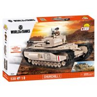 Cobi 3031 World of Tanks Churchill I, 530 k, 1 f