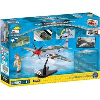 COBI 5513 SMALL ARMY North American P-51C Mustang 250 k 2