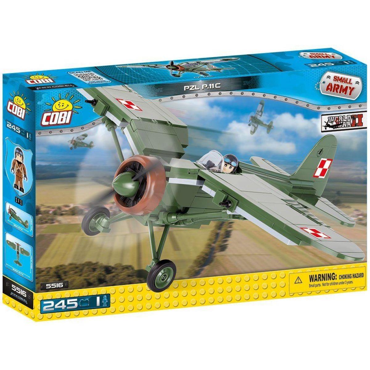 COBI 5516 Small Army II WW PZL P-11 c