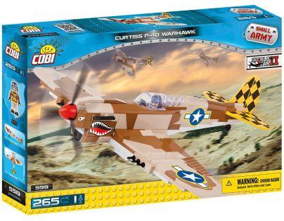 COBI 5519 SMALL ARMY Curtiss P-40 Warhawk 265 k 1 f