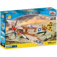 COBI 5519 SMALL ARMY Curtiss P-40 Warhawk 265 k 1 f