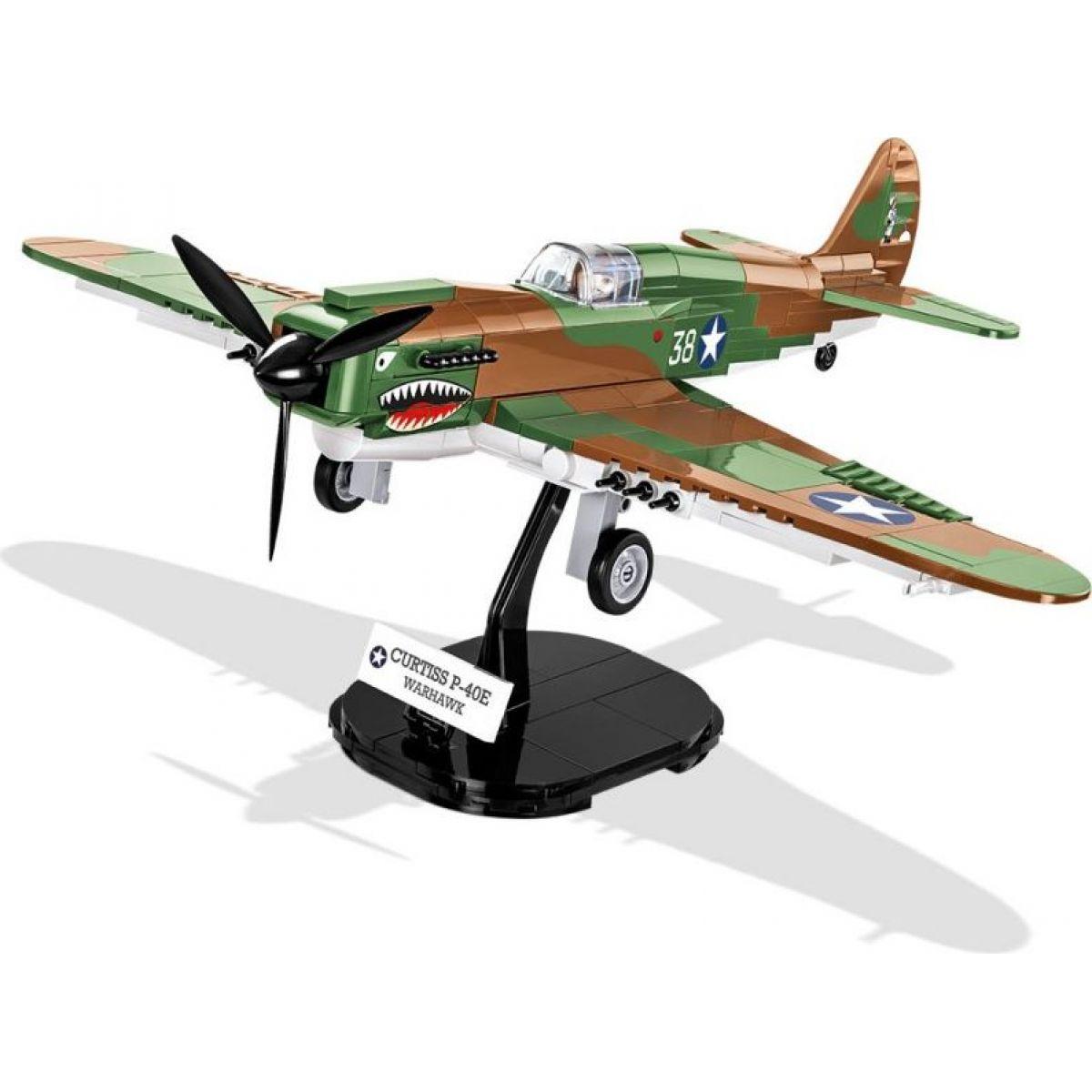 Cobi 5706 Malá armáda II. svetová vojna Stíhacie lietadlo Curtiss P-40E Warhawk