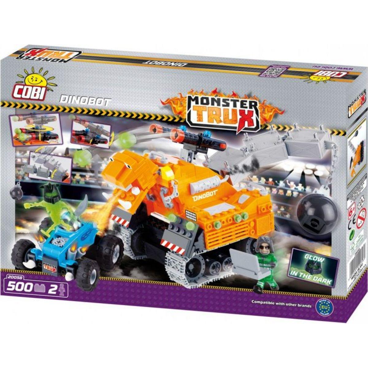 COBI 20058 Monster Trux Dinobot