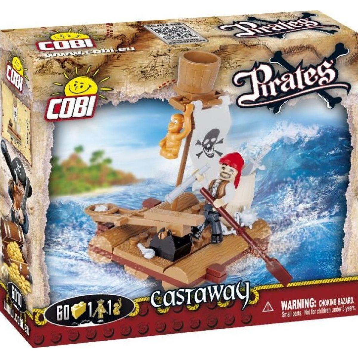 COBI 6010 Piráti Trosečník
