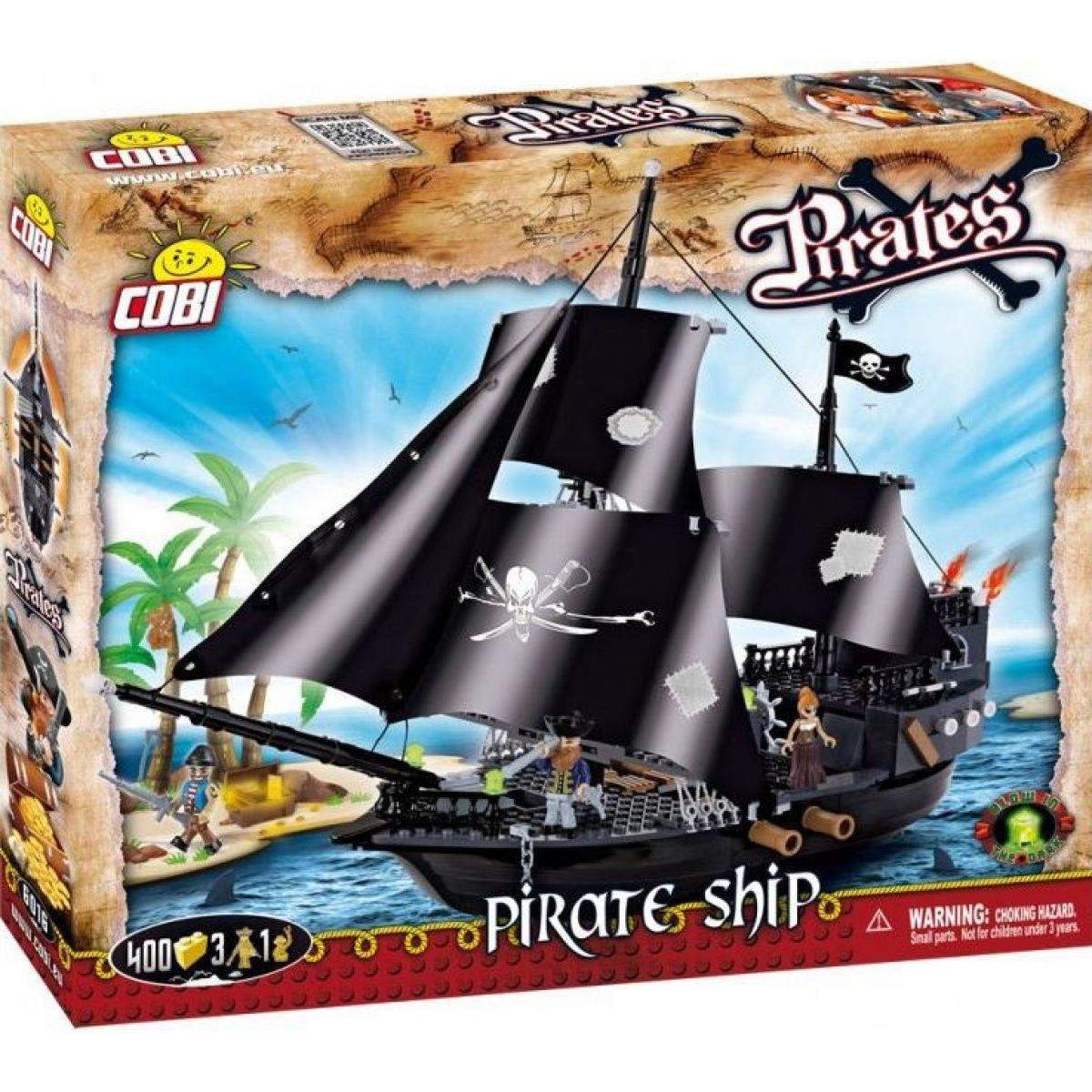 Cobi Piráti 6016 Pirátská loď