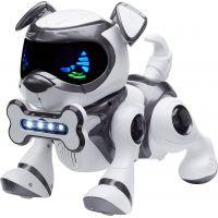 Cobi Teksta Robotické štěně ovládané hlasem Bílo-černá 2