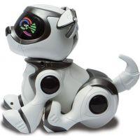 Cobi Teksta Robotické štěně ovládané hlasem Bílo-černá 3