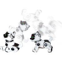 Cobi Teksta Robotické štěně ovládané hlasem Bílo-černá 4