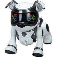 Cobi Teksta Robotické štěně ovládané hlasem Bílo-černá 5