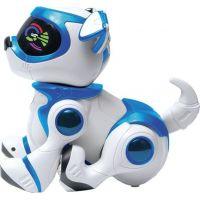 Cobi Teksta Robotické štěně ovládané hlasem Bílo-modrá 2