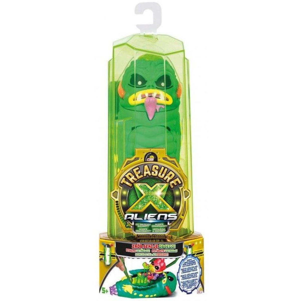 Cobi Treasure X Lovci votrelcov zelená