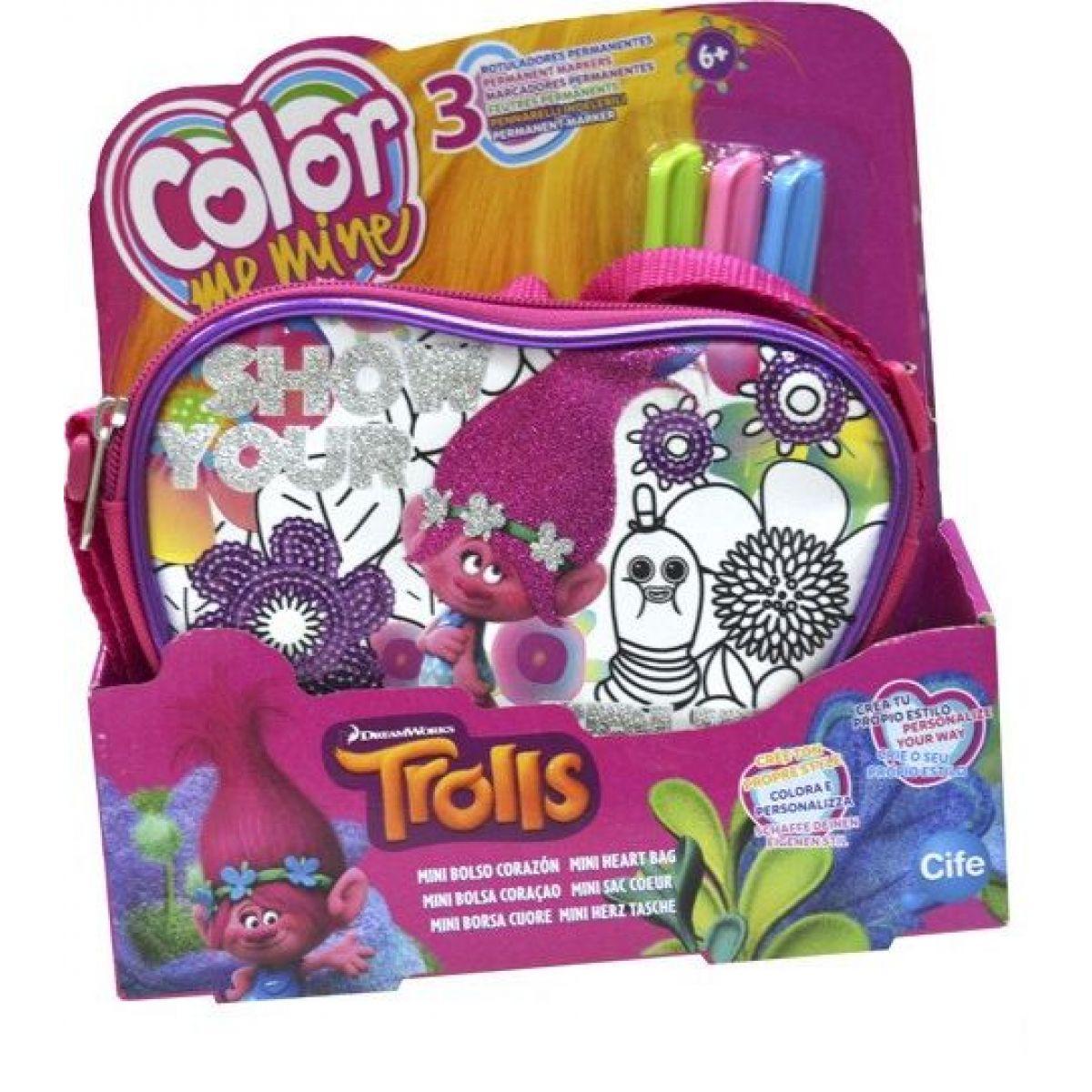 Color Me Mine Trollové kabelka Mini Bolso