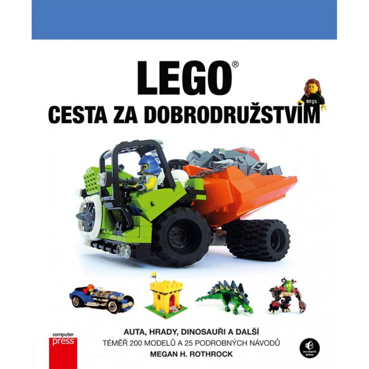 LEGO Cesta za dobrodružstvom 1 Megan Rothrock