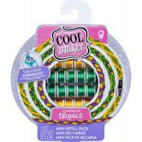Cool Maker Náhradné nite pre náramkovač zeleno-žlto-fialové