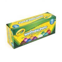 Crayola 10 ks omývateľných temperových farieb