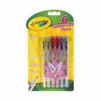 Crayola 6 ks trblietavých gelových pier