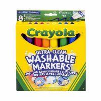 Crayola Fixy vypratelné s širším hrotem 8 ks