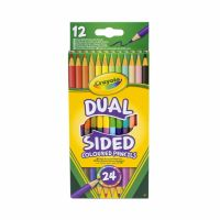 Crayola Pastelky obojstranné 12 ks