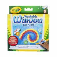 Crayola zmývateľné fixky na sklo