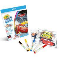 Crayola Zázračné omaľovánky Auta 2