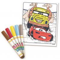 Crayola Zázračné omaľovánky Auta 3