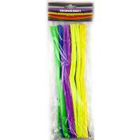 Creatoys Chlupaté dráty 50ks mix barev