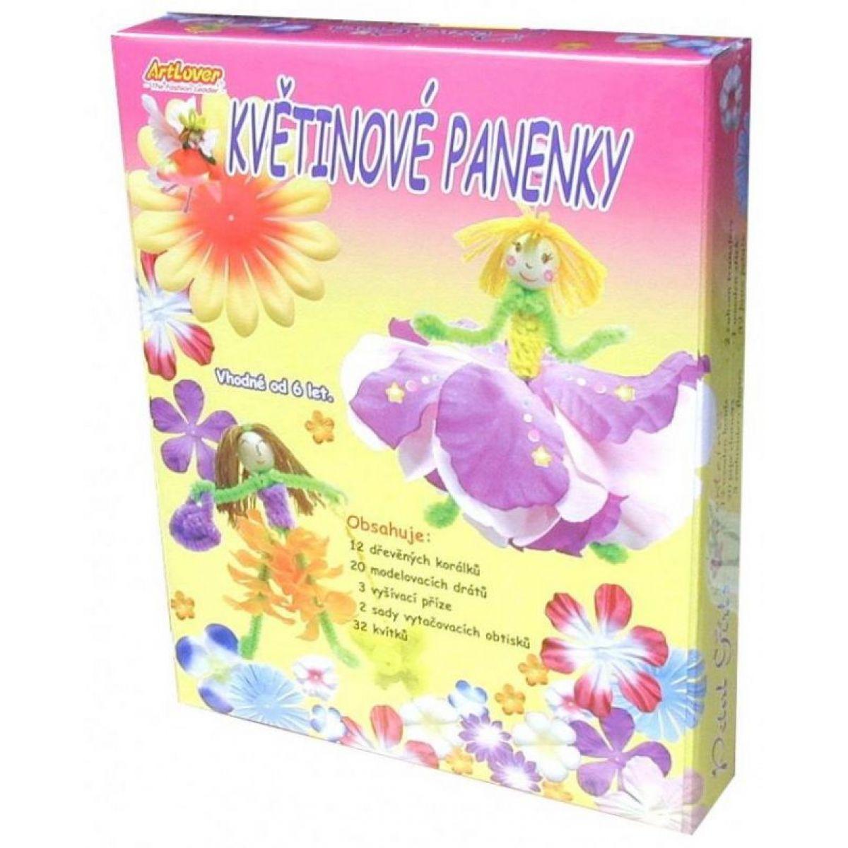 Creatoys Kvetinové bábiky