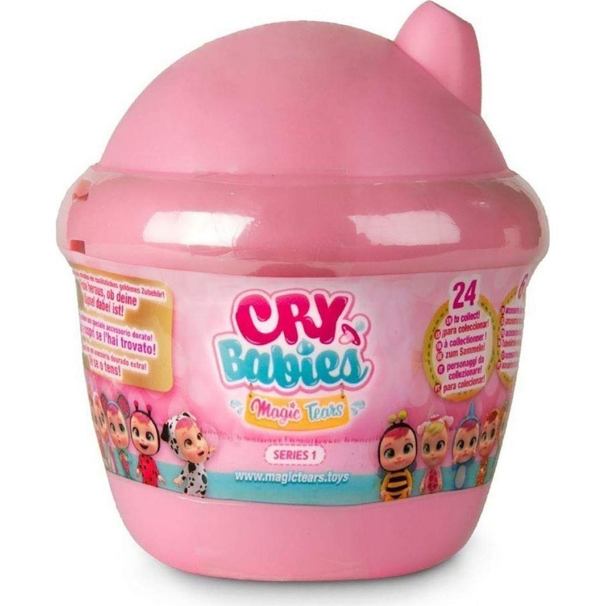 Cry Babies magické slzy série 3 svetloružová