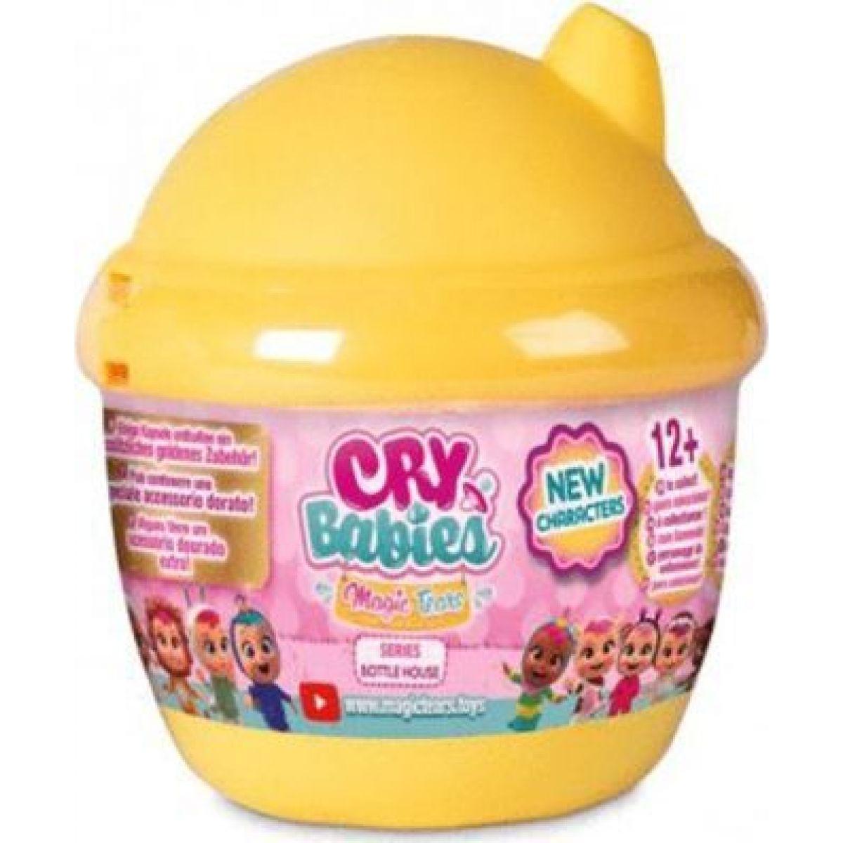Cry Babies magické slzy série 3 žltá