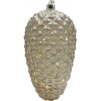Crystal Závěsná Zlatá Šiška 22 cm