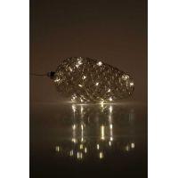 Marimex Crystal Závesná zlatá šiška 22 cm 5