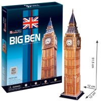 CUBIC FUN 3D puzzle Big Ben 47 dielikov