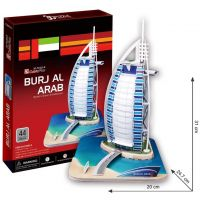 CUBIC FUN 3D puzzle Burdž al-Arab Dubaj