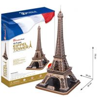 CubicFun 3D Puzzle Eiffelova veža 82 dielikov