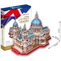 CUBIC FUN 3D puzzle Katedrála svatého Pavla Londýn