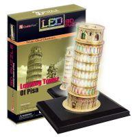 Cubic Fun 3D puzzle Šikmá věž LED 15 dílků