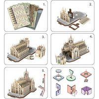 CubicFun Puzzle 3D Duomo di Milano 251 dielikov 2
